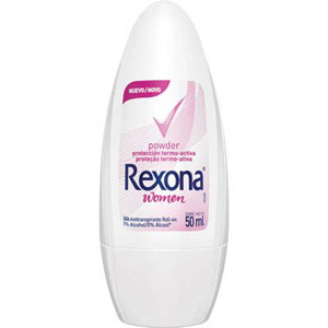 Desodorante Rexona Roll-On Women Powder (Emb. contém 1un. de 50ml)