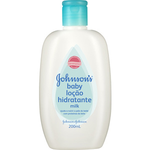 Hidratante Johnsons Baby Milk (Emb. contém 1un. de 200ml)