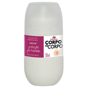 Desodorante Corpo a  Corpo Natural (Emb. contém 1un. de 50ml) - Roll-On