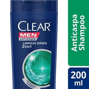 Shampoo Clear Anti-caspa Limpeza Diaria Men (Emb. contém 1un. de 200ml)