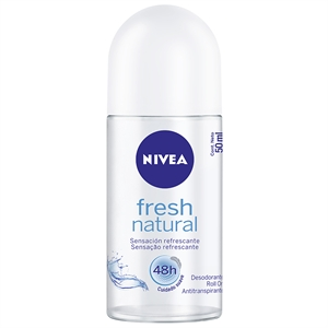 Desodorante Nivea Roll-On Fresh Natural (Emb. contém 1un. de 50ml)