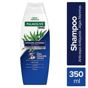 Shampoo Palmolive Anticaspa Antiqueda For Men (Emb. contém 1un. de 350ml)