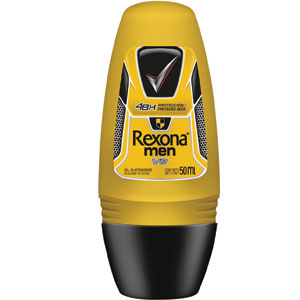 Desodorante Roll-On Compact V8 (Emb. contém 6un. de 30ml cada) - Rexona Men