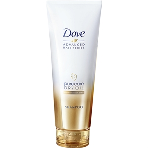 Shampoo Dove Pure Care Dry Oil (Emb. contém 1un. de 200ml)