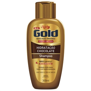 Shampoo Niely Gold Chocolate (Emb. contém 1un. de 300ml)