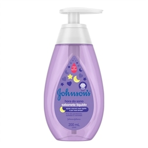 Sabonete Líquido Johnson Baby Hora do Sono (Emb. contém 1un. de 200ml)