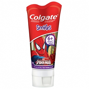 Creme Dental Kids Júnior Spider Man (Emb. contém 1un. de 100g) - Colgate