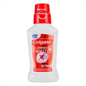 Enxaguante Bucal Colgate Luminous White XD Shine (Emb. contém 1un. de 250ml)