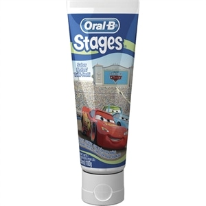 Creme Dental Oral B Stages (Emb. contém 12un. de 100g cada)