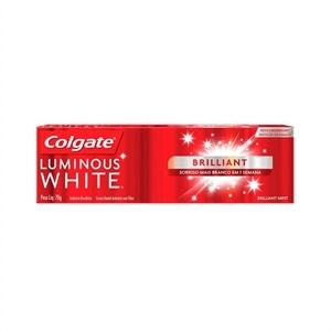 Creme Dental Colgate Luminous White Brillant (Emb. contém 1un. de 70g)