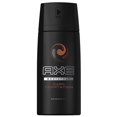 Desodorante Axe Aerosol Body Spray Dark Temptation  (Emb. contém 1un. de 150ml)