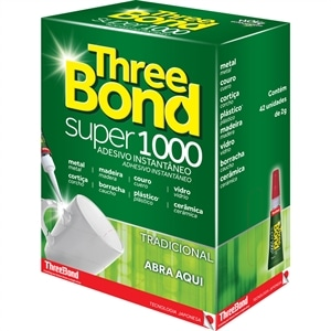 Cola Three Bond 1000 SM (Emb. contém 42un. de 2g cada)