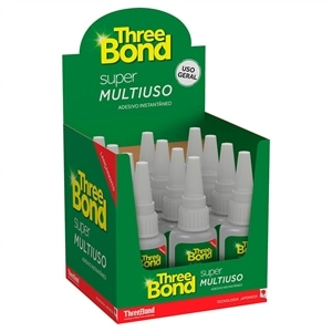 Cola Three Bond   Instantanea Super Multi Uso (Emb. contém 12un. de 20g cada)