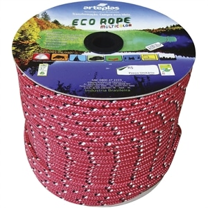 Corda Carretel Eco Rope Colorida 12mm x 105m (Emb. contém 1un.) - Arteplas