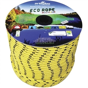 Corda Carretel Eco Rope Colorida 8mm x 240m (Emb. contém 1un.) - Arteplas