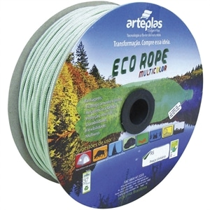 Corda  Carretel Eco Rope Colorida 6mm x 150m (Emb. contém 1un.) - Arteplas