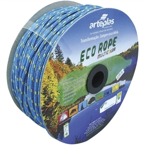 Corda Carretel Eco Rope Colorida 4mm x 220m (Emb. contém 1un.) - Arteplas