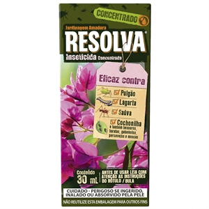 Resolva Inseticida Concentrado (Emb. contém 1un. de 30ml)