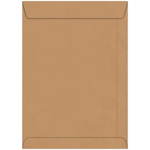 Envelope Saco Kraft Natural 229mm x 324mm (Emb. contém 250un.) - Foroni