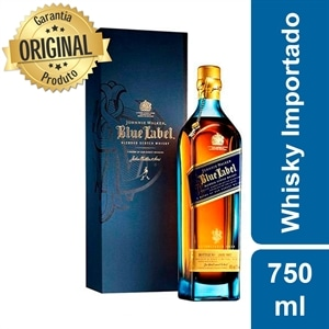 Whisky Importado Johnnie Walker Blue Label (Emb. contém 1un. de 750ml)