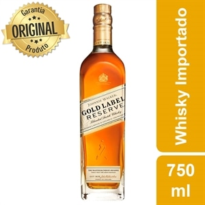 Whisky Importado Johnnie Walker Gold Label Reserve (Emb. contém 1un. de 750ml)