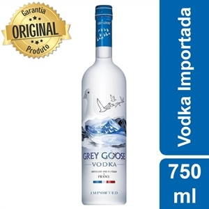 Vodka Importado Grey Goose Original (Emb. contém 1un. de 750ml)
