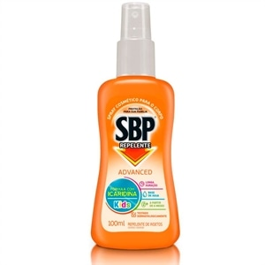 Repelente de Insetos SBP Advanced Spray Kids (Emb. contém 1un. de 100ml)