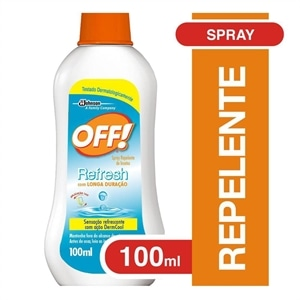 Repelente de Insetos Off! Refresh Spray (Emb. contém 1un. de 100ml)
