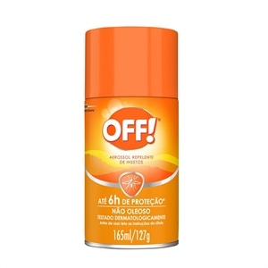 Repelente OFF Family Aerossol (Emb. contém 1un. de 165ml)
