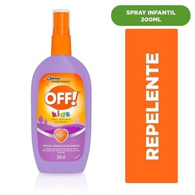 Repelente de Insetos Off! Spray Kids (Emb. contém 1un. de 200ml)