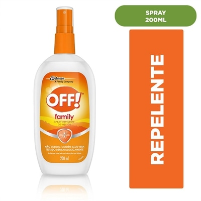 Repelente de Insetos Off! Spray (Emb. contém 1un. de 200ml)