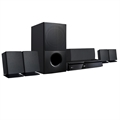 Home Theater LG LHD625 1000W, 5.1 Canais Full HD, HDMI, Bluetooth, MP3, Sound Sync Wireless (Emb. contém 1un.)