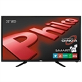 "Smart TV 32"" LED HD PH32B51DSGW WiFi, 1 USB, 2 HDMI Função Guide, Função Info - Philco"