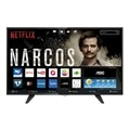 "Smart TV 43"" AOC LCD LED LE43S5970 Full HD, 3 HDMI, 2 USB (Emb. contém 1un.)"