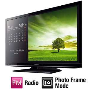 "TV 40"" LCD LED Sony KDL- 40EX455 Full HD   DTVI   USB   2 HDMI   Rádio FM   Photo Frame (Emb. contém 1un.)"