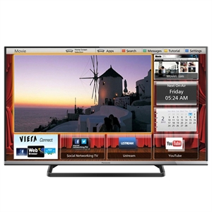 "Smart TV 42"" LCD LED Panasonic Full HD TC-42AS610B WiFi   2 HDMI   2 USB   My Home Screen   Swipe & Share   Painel IPS (Emb. contém 1un.)"