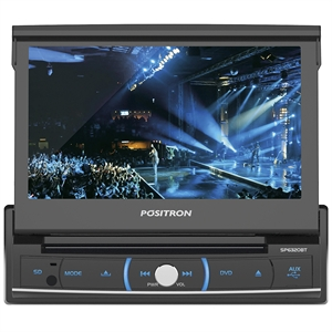 "Som Automotivo Positron SP6320 Tela 7""  com DVD 1-Din  USB  SD Card  Bluetooth (Emb. contém 1un.)"