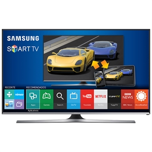 "Smart TV 48"" LCD LED UN48J5500AGXZD Full HD WiFi   2 USB   3 HDMI   DTV   120Hz   Smart View 2.0   Game TV (Emb. contém 1un.) - Samsung"
