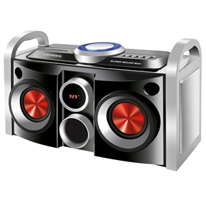 Mini System Mondial MS-08B  Super Sound Box Bivolt (Emb. contém 1un.)