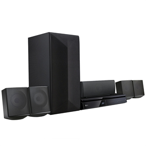 Home Theater Blu Ray 3D Full HD LHB625M 5.1 Canais   USB   HDMI   Bluetooth  Subwoofer   Private Sound 2.0   1000W RMS (Emb. contém 1un.) - LG