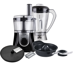 Multiprocessador Philco All In One + Citrus 800W Preto/Prata 220V (Emb. contém 1un.)