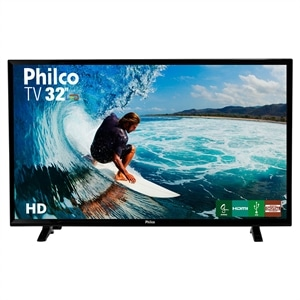"TV 32"" LCD LED HD PH32E31DG   1 USB   2 HDMI (Emb. contém 1un.) - Philco"