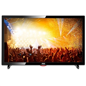 "TV 19"" LCD LED AOC LE19D1461 HD  2 HDMI   1 USB   VGA  (Emb. contém 1un.)"