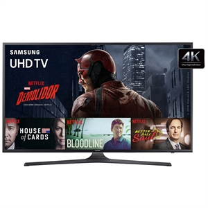 "Smart TV 40"" Ultra HD 4K UN40KU6000GXZD WiFi   2 USB   3 HDMI (Emb. contém 1un.) - Samsung"