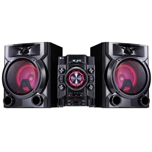 Mini System LG CM5660 620W RMS TV  Sound Sync  Multi Bluetooth  Dual USB (Emb. contém 1un.)