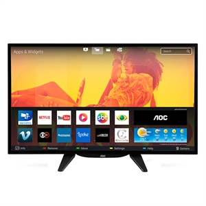 "Smart TV 32"" LCD LED AOC LE32S5760 HD  Wi-Fi  3 HDMI  2 USB (Emb. contém 1un.)"