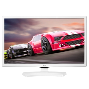 "TV 23.6"" LCD LED LG 24MT49DF-WS  DTV  Entrada  HDMI  USB  AV Time Machine Branco (Emb. contém 1un.)"