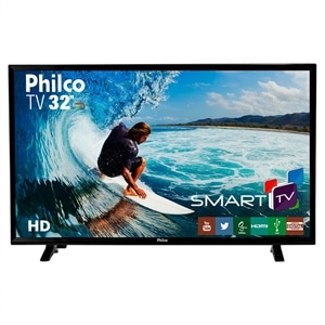 "Smart TV 32"" Philco LCD LED PH32E31DSGW HD HDMI USB WiFi (Emb. contém 1un.)"