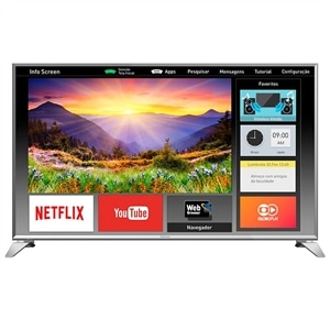 "Smart TV 49"" Panasonic LCD LED TC-49ES630B Full HD  3 HDMI  2 USB (Emb. contém 1un.)"