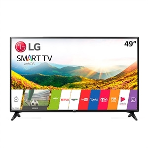 "Smart TV 49"" LCD LED   LG 49LJ5500 Full HD   2 HDMI   1 USB   DTV (Emb. contém 1un.)"